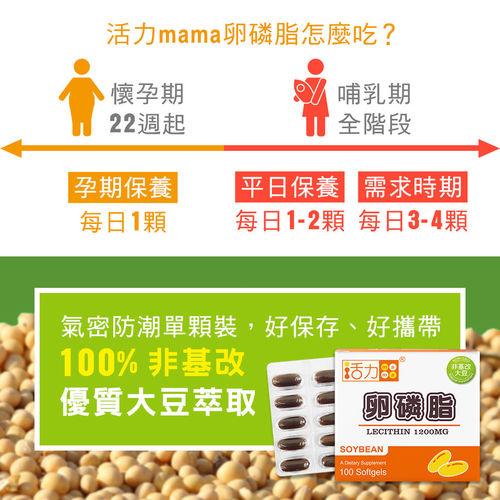 活力mama卵磷脂-懷孕哺乳營養推薦