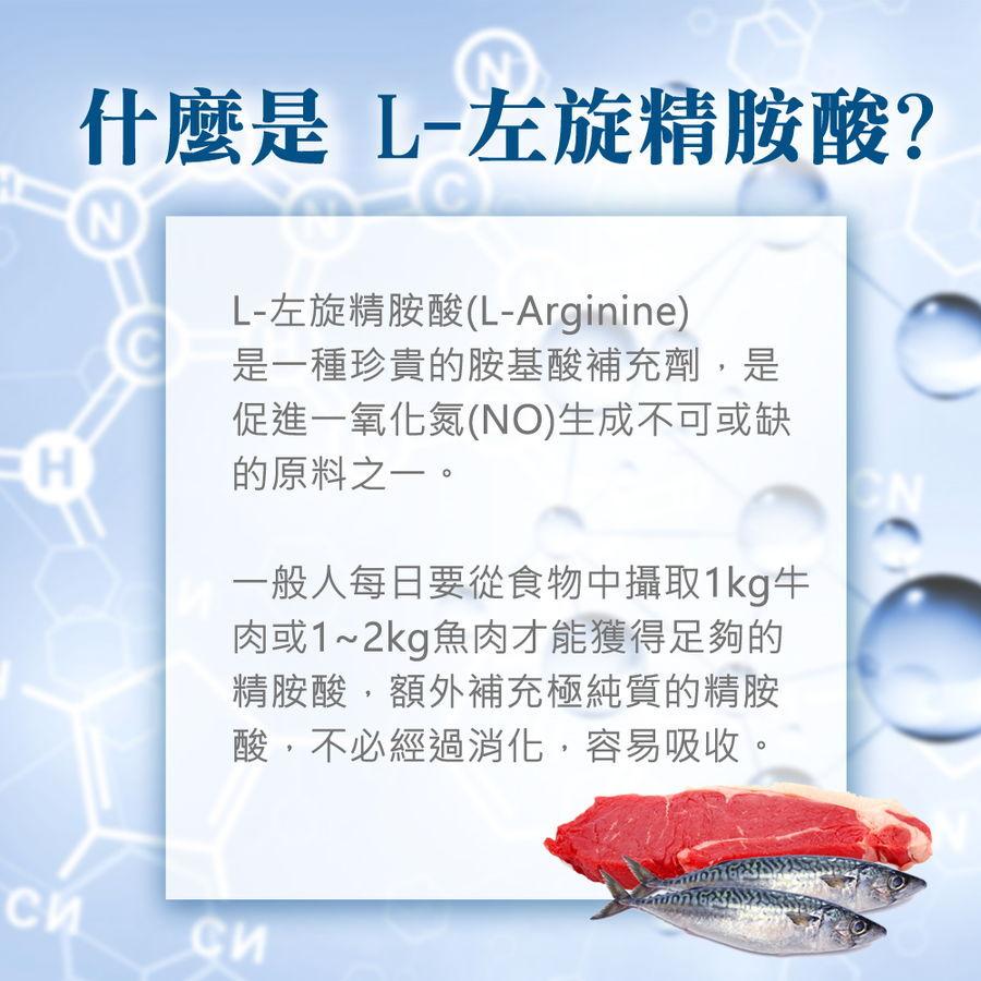 L-左旋精胺酸提升男性魅力,想要勇猛持久必須補充