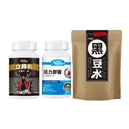 【倍韻養暖組】黑豆水+鹿茸+精胺酸
