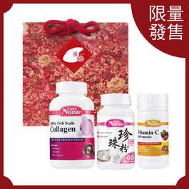 【閏月孝親限定組】膠原蛋白+珍珠粉+維生素C
