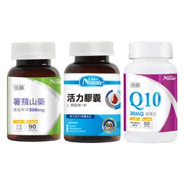 【35+倍韻組】薯蕷山藥+精胺酸+Q10