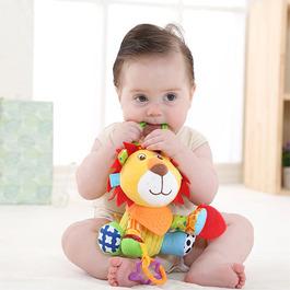 多功能安撫抱偶│嬰兒磨牙玩具