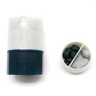 錠劑磨粉器│四合一切半、磨粉、收納、水杯輔具