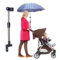 嬰兒推車專用遮陽雨傘架
