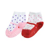 蝴蝶結公主學步襪│0~3歲│2雙組